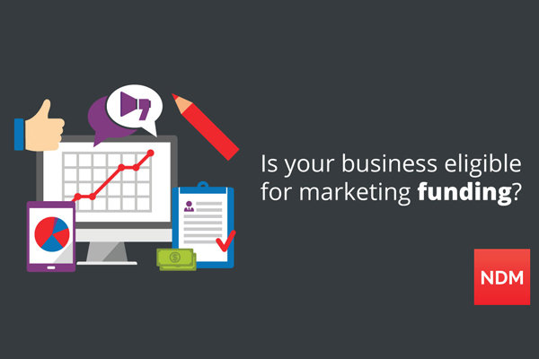 Get funded help with your marketing